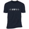 MMO Heartbeat - T-Shirt-T-Shirt-CustomCat-Men's T-Shirt-Midnight Navy-S