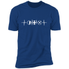 MMO Heartbeat - T-Shirt-T-Shirt-CustomCat-Men's T-Shirt-Royal Blue-S