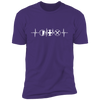 MMO Heartbeat - T-Shirt-T-Shirt-CustomCat-Men's T-Shirt-Purple-S