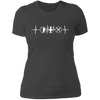 MMO Heartbeat - T-Shirt-T-Shirt-CustomCat-Women's T-Shirt-Heavy Metal-X-Small