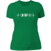 MMO Heartbeat - T-Shirt-T-Shirt-CustomCat-Women's T-Shirt-Kelly Green-X-Small