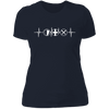 MMO Heartbeat - T-Shirt-T-Shirt-CustomCat-Women's T-Shirt-Midnight Navy-X-Small
