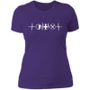 MMO Heartbeat - T-Shirt-T-Shirt-CustomCat-Women's T-Shirt-Purple-X-Small