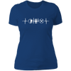 MMO Heartbeat - T-Shirt-T-Shirt-CustomCat-Women's T-Shirt-Royal Blue-X-Small