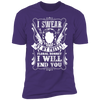 My Pretty Floral Bonnet - T-Shirt-T-Shirt-CustomCat-Men's T-Shirt-Purple-S