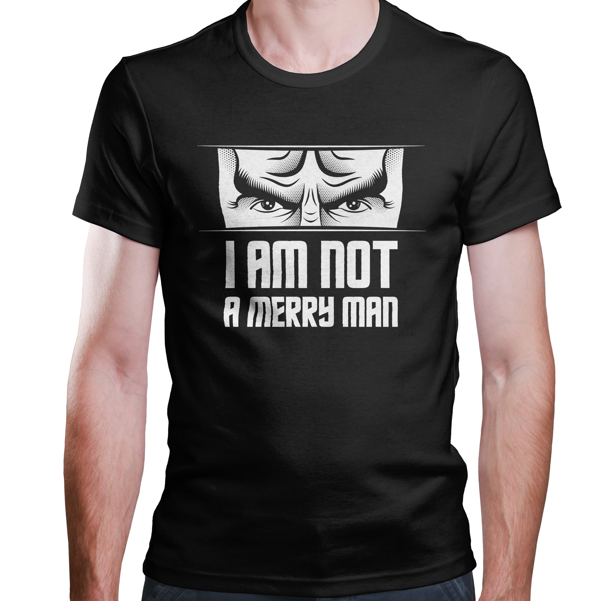 Not a Merry Man - T-Shirt-T-Shirt-CustomCat-