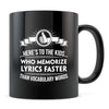 Ode Lyrics - 11oz/15oz Black Mug-Coffee Mug-CustomCat-11oz Mug-Black-