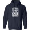 PIcard's Tea - Hoodie-Hoodie-CustomCat-Navy-S-