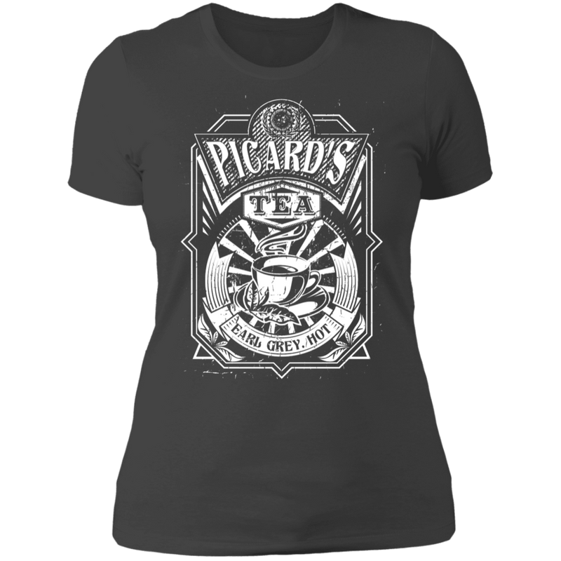 PIcard's Tea - T-Shirt-T-Shirt-CustomCat-