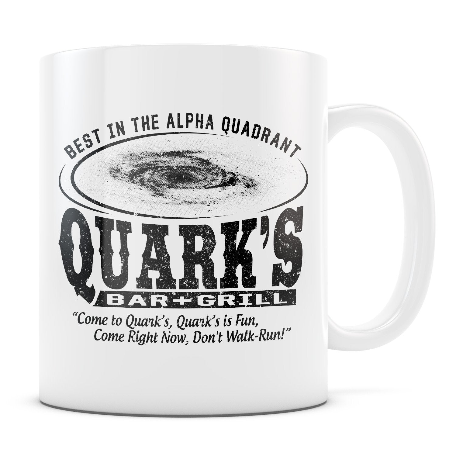 Quark's Bar - 11oz/15oz White Mug-Coffee Mug-CustomCat-11oz Mug-White-
