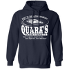 Quark's Bar - Hoodie-Hoodie-CustomCat-Navy-S-