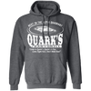 Quark's Bar - Hoodie-Hoodie-CustomCat-Dark Heather-S-