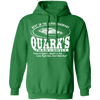 Quark's Bar - Hoodie-Hoodie-CustomCat-Irish Green-S-