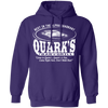 Quark's Bar - Hoodie-Hoodie-CustomCat-Purple-S-