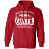 Quark's Bar - Hoodie-Hoodie-CustomCat-Red-S-