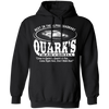 Quark's Bar - Hoodie-Hoodie-CustomCat-Black-S-