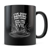 Quit Drinking Good - 11oz/15oz Black Mug-Coffee Mug-CustomCat-11oz Mug-Black-