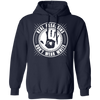 Real Assassins Don't Wear White - Hoodie-Hoodie-CustomCat-Navy-S-