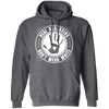 Real Assassins Don't Wear White - Hoodie-Hoodie-CustomCat-Dark Heather-S-