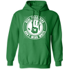 Real Assassins Don't Wear White - Hoodie-Hoodie-CustomCat-Irish Green-S-