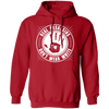 Real Assassins Don't Wear White - Hoodie-Hoodie-CustomCat-Red-S-