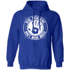 Real Assassins Don't Wear White - Hoodie-Hoodie-CustomCat-Royal Blue-S-