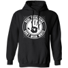 Real Assassins Don't Wear White - Hoodie-Hoodie-CustomCat-Black-S-