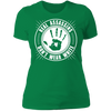 Real Assassins Don't Wear White - T-Shirt-T-Shirt-CustomCat-Women's T-Shirt-Kelly Green-X-Small