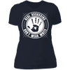 Real Assassins Don't Wear White - T-Shirt-T-Shirt-CustomCat-Women's T-Shirt-Midnight Navy-X-Small