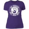 Real Assassins Don't Wear White - T-Shirt-T-Shirt-CustomCat-Women's T-Shirt-Purple-X-Small