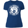 Real Assassins Don't Wear White - T-Shirt-T-Shirt-CustomCat-Women's T-Shirt-Royal Blue-X-Small