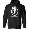 Rowsdower Homeland Security - Hoodie-Hoodie-CustomCat-Black-S-