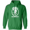 Rowsdower Homeland Security - Hoodie-Hoodie-CustomCat-Irish Green-S-