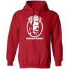Rowsdower Homeland Security - Hoodie-Hoodie-CustomCat-Red-S-
