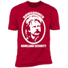 Rowsdower Homeland Security - T-Shirt-T-Shirt-CustomCat-Men's T-Shirt-Red-S