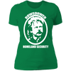 Rowsdower Homeland Security - T-Shirt-T-Shirt-CustomCat-Women's T-Shirt-Kelly Green-X-Small