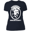 Rowsdower Homeland Security - T-Shirt-T-Shirt-CustomCat-Women's T-Shirt-Midnight Navy-X-Small