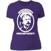 Rowsdower Homeland Security - T-Shirt-T-Shirt-CustomCat-Women's T-Shirt-Purple-X-Small