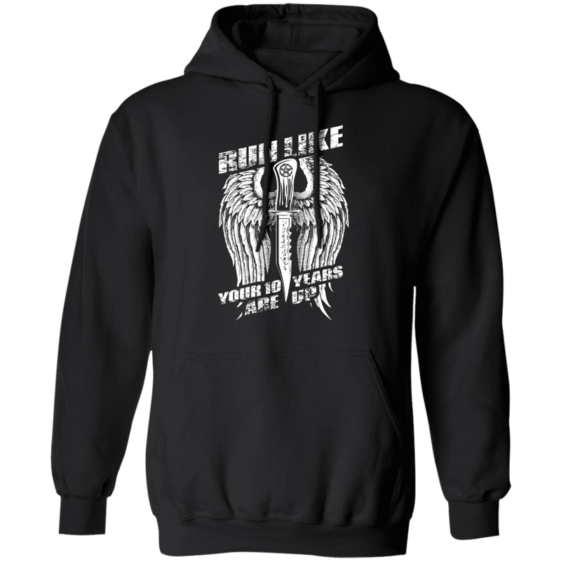 Run Like Your 10 Years Are Up - Hoodie-Hoodie-CustomCat-