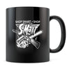 S-Mart - 11oz/15oz Black Mug-Coffee Mug-CustomCat-11oz Mug-Black-