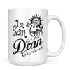 Sam Girl - 11oz/15oz White Mug-Coffee Mug-CustomCat-15oz Mug-White-