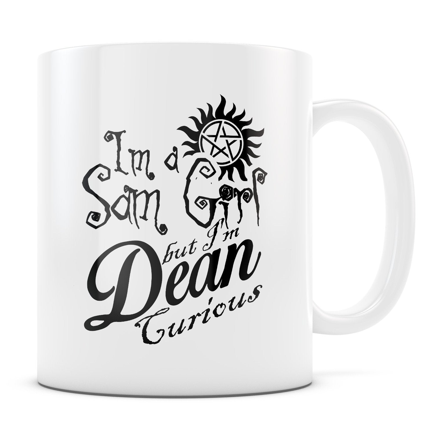 Sam Girl - 11oz/15oz White Mug-Coffee Mug-CustomCat-11oz Mug-White-