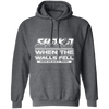 Shaka When the Walls Fell - Hoodie-Hoodie-CustomCat-Dark Heather-S-