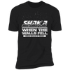 Shaka When the Walls Fell - T-Shirt-T-Shirt-CustomCat-Men's T-Shirt-Black-S