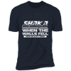 Shaka When the Walls Fell - T-Shirt-T-Shirt-CustomCat-Men's T-Shirt-Midnight Navy-S