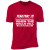 Shaka When the Walls Fell - T-Shirt-T-Shirt-CustomCat-Men's T-Shirt-Red-S