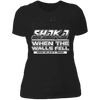 Shaka When the Walls Fell - T-Shirt-T-Shirt-CustomCat-Women's T-Shirt-Black-X-Small