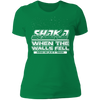 Shaka When the Walls Fell - T-Shirt-T-Shirt-CustomCat-Women's T-Shirt-Kelly Green-X-Small