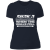 Shaka When the Walls Fell - T-Shirt-T-Shirt-CustomCat-Women's T-Shirt-Midnight Navy-X-Small