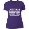 Shaka When the Walls Fell - T-Shirt-T-Shirt-CustomCat-Women's T-Shirt-Purple-X-Small